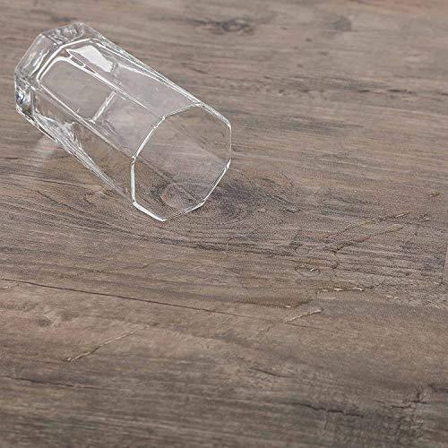CO-Z 16 PCS 24 Square Feet, Vinyl Floor Planks Adhesive Floor Tiles, 2.0mm Thick (Oak - 24 sq ft - 1 Pack)