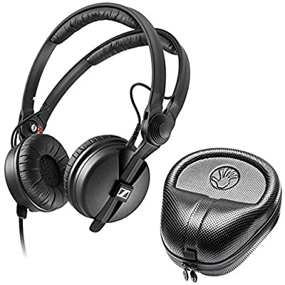 Sennheiser HD 25 Professional DJ Headphone with SLAPPA SL-HP-07 HardBody PRO Case by Sennheiser