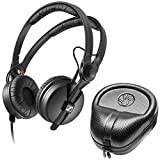 Sennheiser HD 25 Professional DJ Headphone with SLAPPA SL-HP-07...