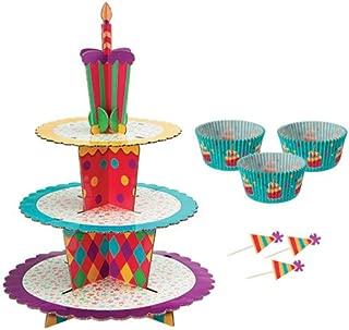 Wilton-Supporto per dolcetti per 24 Cupcake 12 x 16,5 cm Altri Multicolore a Forma di Minnie
