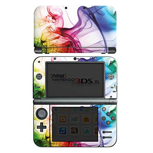 DeinDesign Skin kompatibel mit Nintendo New 3DS XL Folie Sticker Farbe Wasser Regenbogen