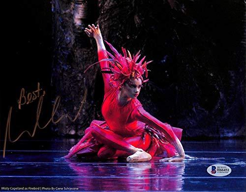 Misty Copeland Autographed Signed Ballet Dancerauthentic 8X10 Photo Autographed Beckett