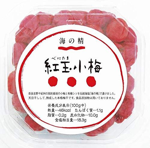 海の精  紅玉小梅 120g  4個