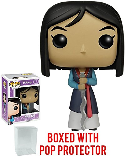 Disney Series 8: Mulan - Mulan Funko Pop! Vinyl Figure (Includes Compatible Pop Box Protector Case)