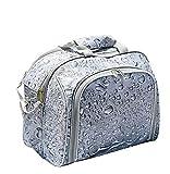 FBKPHSS Mochila de Picnic Capacidad 30L, Mochila Picnic con Cubiertos para 4 Personas Refrigeración y Aislamiento Bolsa de Picnic para Al Aire Libre Cámping