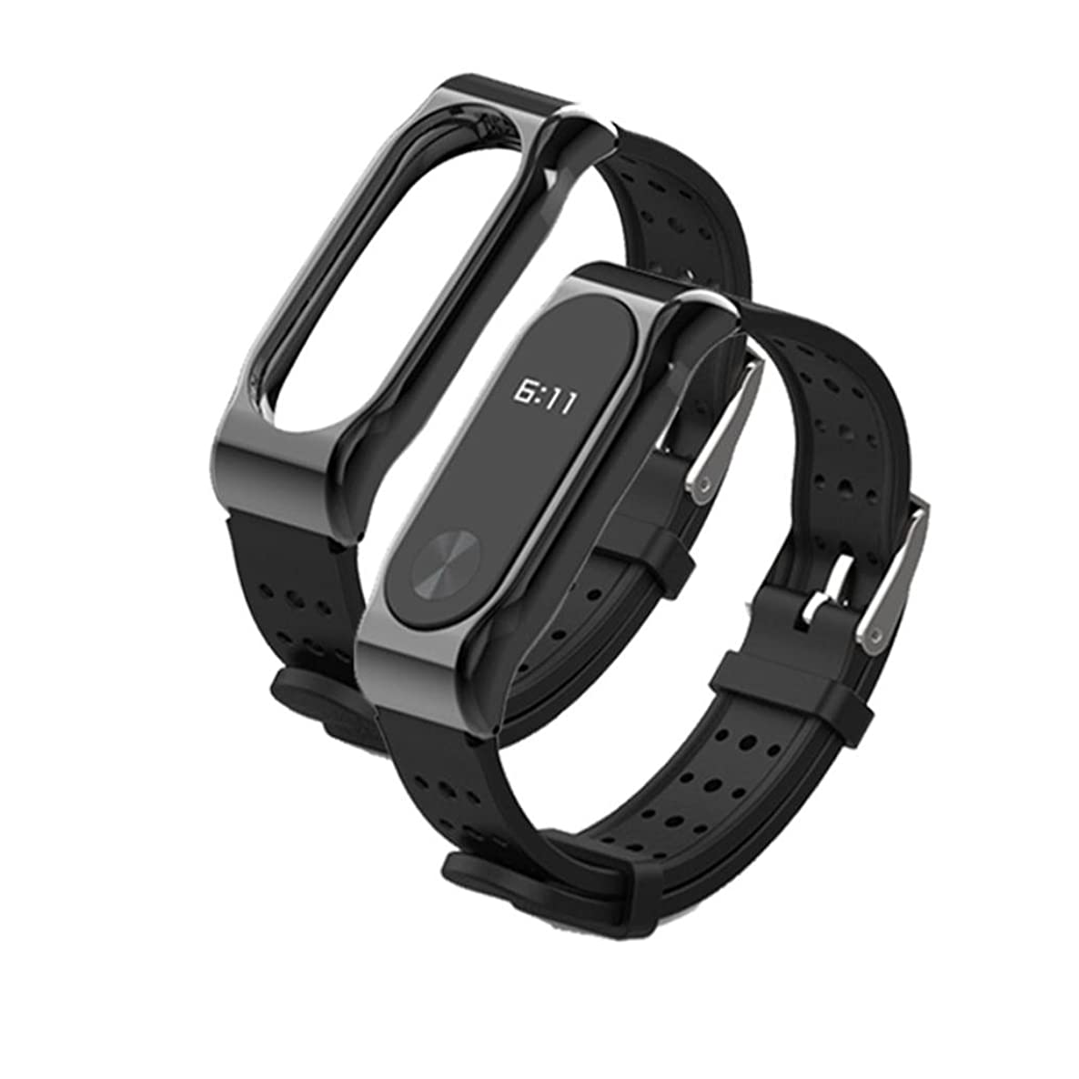 Kanzd Durable Replacement Silicom Waterproof Anti-Off Wristband Sports Bracelet For xiaomi MI Band 2