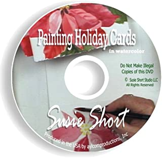 Painting Holiday Cards in Watercolor with Susie Short