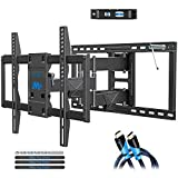 Mounting Dream TV Wall Mount Full Motion TV Bracket for Most 42-75 Inch