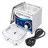 OOLIFENG Limpiador Ultrasónico 1.3L Baño Transductor De 120W Lavadora De Ultrasonidos De 40 Khz para El Hogar Joyas Pendientes Collar Anteojos Monedas