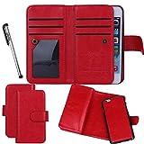 For iPhone 5 5S SE, Urvoix(TM) Wallet Leather Flip Card