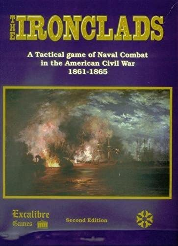 n ° 1 en línea EXCAL  the Ironclads, a Tactical Game of Naval Naval Naval Combat in the American Civil War 1861-5, 2nd Edition by Excalibre Decision Games  precios al por mayor