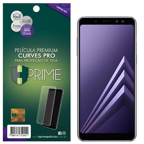 Pelicula HPrime Curves Pro para Samsung Galaxy A8 Plus 2018, Hprime, Película Protetora de Tela para Celular, Transparente