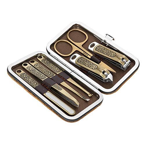 Kit de cortador de uñas Tijeras de uñas Kit de cuidado de uñas para uso doméstico de uñas para salón de uñas para corte de uñas