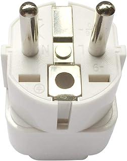 Travel Adaptor for KSA/US/UK/JP/CN/AU Plug Convert to EU/Germany Socket, KSA/US/UK/CA/JP/AU to 2-Pin European Plug Adapter...