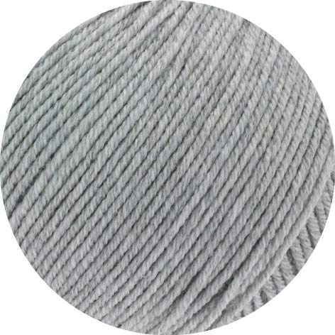 Lana Grossa Cool Wool Big Melange (GOTS) 222 - Hellgrau meliert
