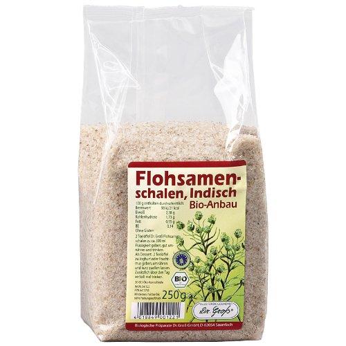 Dr. Groß Flohsamenschalen indisch bio, 1er Pack (1 x 250 g)
