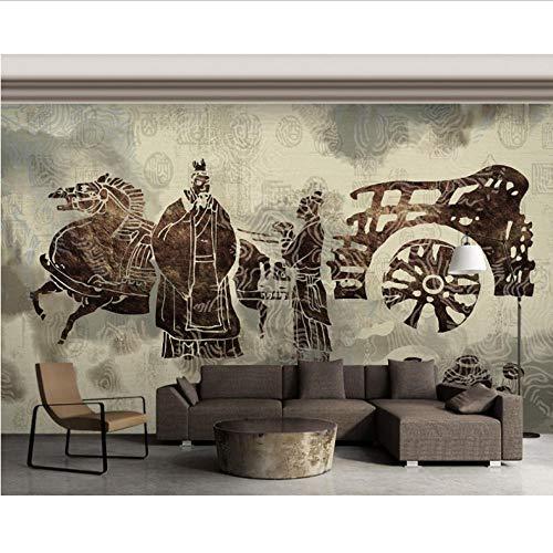 Dianer Wallpaper Restaurant muurschildering Chinese traditionele wijn cultuur restaurant Hotel muur aangepaste 3D foto behang Afmetingen: 120 x 100 cm