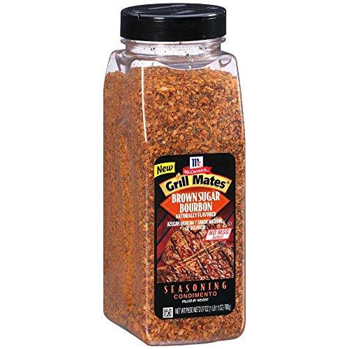 McCormick Grill Mates Brown Sugar Bourbon Seasoning, 27 Ounce -- 6 per case.