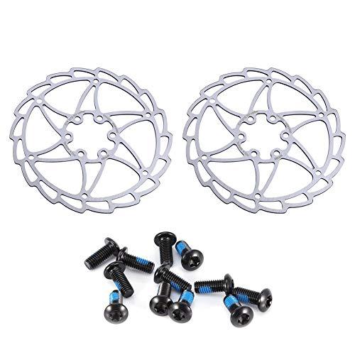 VGEBY1 Sistema del Freno de Disco de la Bicicleta, Piezas del Freno de la Bicicleta de montaña del Corredor del Freno de Disco de la Bicicleta del Acero Inoxidable para Shimano(160mm)