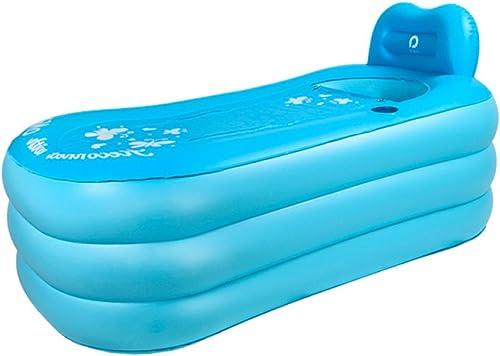 ERHANG Badewannenspritzschutz Aufblasbare Badewanne Badewanne Aufblasbare Badewannen Erwachsene Badewannen Kinderbadewannen Badewannen Faltbare Badewannen Badewannen