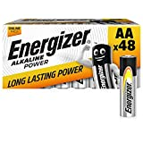 Energizer Pack of 48 Piles AA, A...