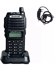 BaoFeng UV-82 Dual-Band 136-174/400-520 MHz FM Portable Ham Two Way Radio with Free earpiece