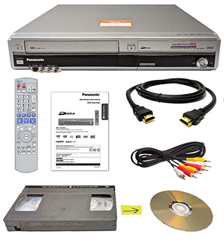 vcr tapes to dvds Panasonic VHS to DVD Recorder VCR Combo w/ Remote, HDMI