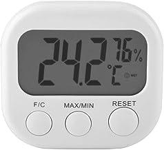 hong Termómetro, medidor de Temperatura y Humedad, Uso de almacén Digital para Uso en Exteriores de Oficina en casa