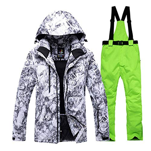 KUNHAN Heren ski jack Heren ski wear Warm Adult Sneeuw Pak Speciaal Heren Snowboarden Sets Waterdichte Windproof Ski Suit Sets Jassen En Bib Broek Beste Ski Suit