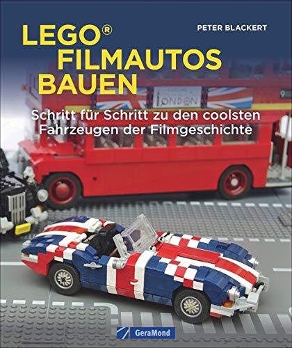 Lego-Filmautos bauen. Schritt für Schritt zu den coolsten Fahrzeugen der Filmgeschichte. 15 legendäre Automodelle – von James Bonds Lotus Esprit bis zu dem Ford Falcon V8 Interceptor aus Mad Max.