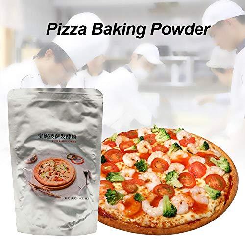 MezoJaoie Pizza Hefe, 220 g aktive Instant-Trockenhefe Sauerteigpulverhefe zum Backen von Pizza zu Hause