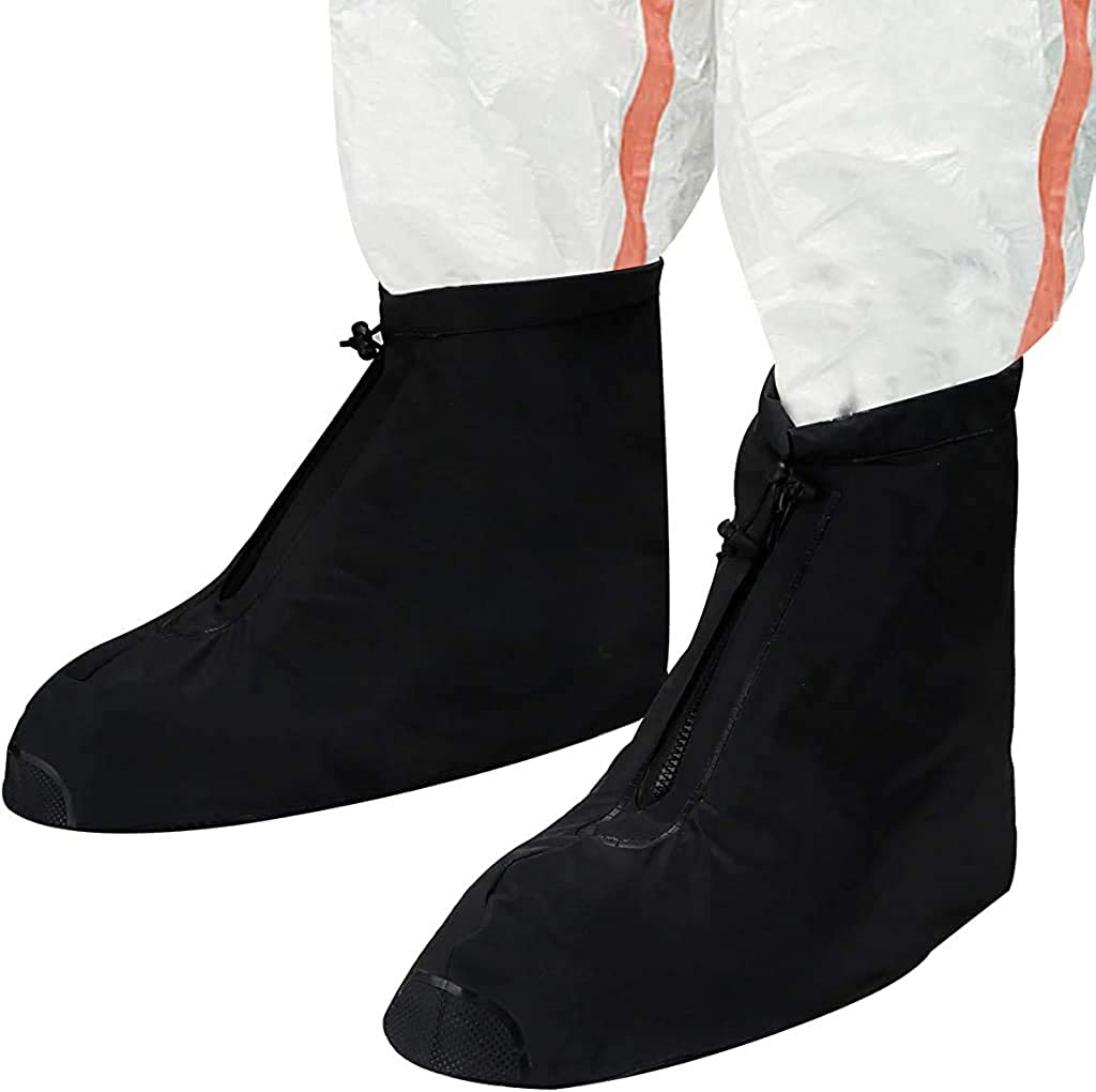 Reusable Omaha Mall Waterproof Max 65% OFF Shoe MenWomen Covers