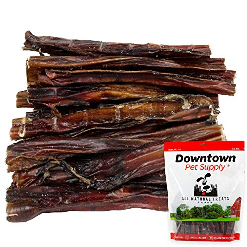 Downtown Pet Supply 6 Inch American Bully Sticks for Dogs Made in USA - Odorless All Natural Dog Dental Chew Treats, High in Protein, Alternative to Rawhides (6 Inch, 1 LB)