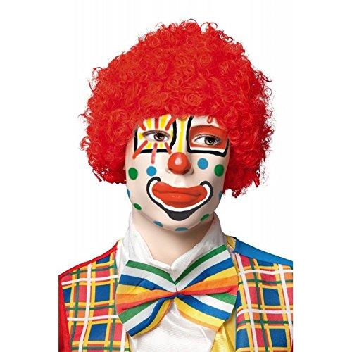 P 'tit clown 68100 Pruik Pop 28 X 25 rood