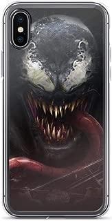 Venom Dark Anti-Scratch Clear Case Case for iPhone X/XS