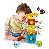 Yookidoo- Bebés Y Primera Infancia Juguetes para Apilar, Multicolor (40112)
