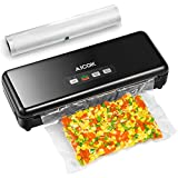 Aicok Vacuum Sealer, 3 in 1 Automatic & Manual Food Sealer, One-Touch Vacuum