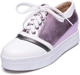 BalaMasa Womens APL12069 Pu Wedge Heels