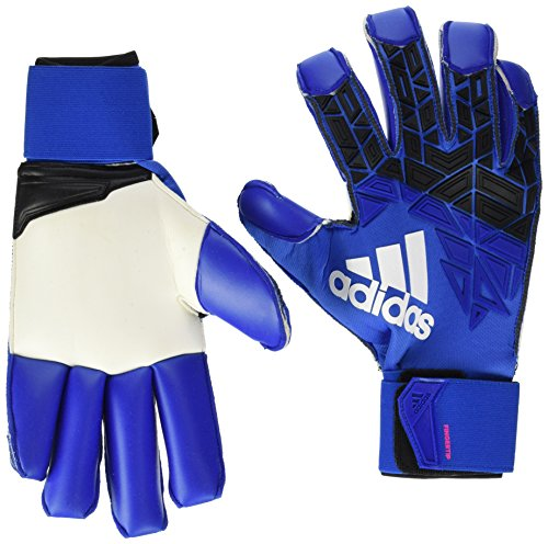 adidas Erwachsene ACE Trans Fingertip Torwarthandschuhe, Blue/Core Black/White/Shock pink s16, 11
