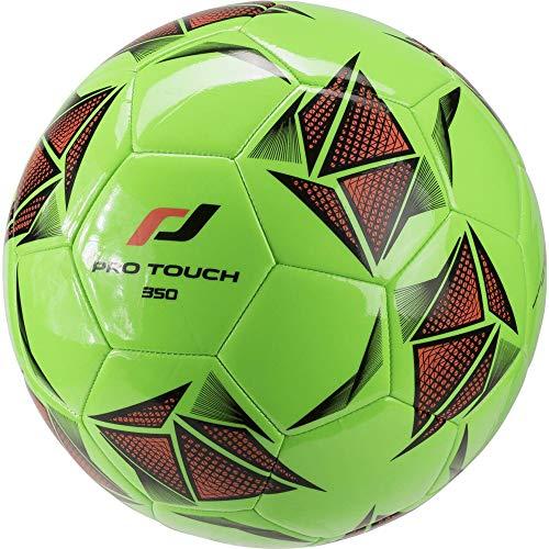 Pro Touch Fußball Force 35 Ball, Grün/Schwarz/Orange, 5