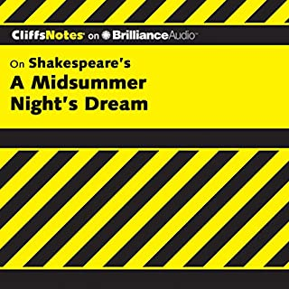 A Midsummer Night's Dream: CliffsNotes                   Written by:                                                                                                                                 Karin Jacobson Ph.D.                               Narrated by:                                                                                                                                 Ellen Grafton                      Length: 3 hrs and 22 mins     Not rated yet     Overall 0.0