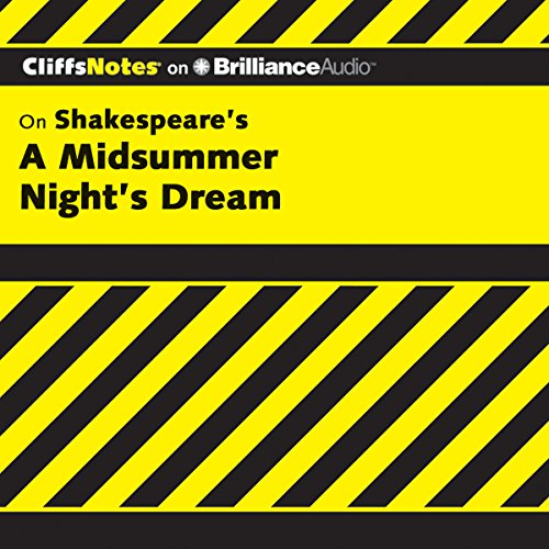 A Midsummer Night's Dream: CliffsNotes cover art