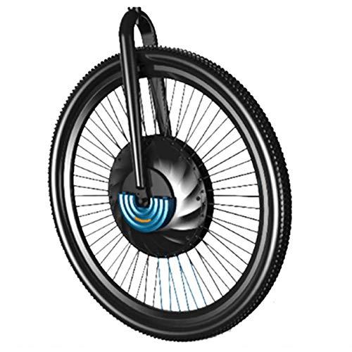 GJZhuan Ebike Kit De Conversión 20' 24''26''29''700C Rueda Delantera del Motor Sin Escobillas con La Batería De La Maza Motor Kit Bicicleta Eléctrica IMotor 1.0 (Color : V Wire Control, Size : 700C)