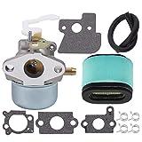 Ginode 698055 690152 Carburetor fit for 690152 694203 121602 121607 121612 Engines 273356 121602 122602 Generator Lawnmower 697029 690610 Air Filter Tune Up Kit