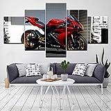 Leinwand Wandkunst HD gedruckt Poster Modular Modern Picture 5 Stück Malerei Home Decor für Wohnzimmer(size1)