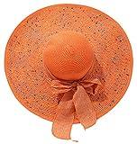 Women's Wide Brim Hat Sun Protection Straw...