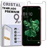 REY Protector de Pantalla para OPPO F5 Lite - OPPO A83, Cristal Vidrio Templado Premium