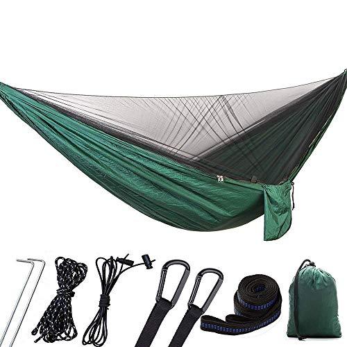 XHLLX Hamacas al Aire Libre Hamaca Hamaca Columpio Camping con mosquitera se Puede Abrir automáticamente Abierto