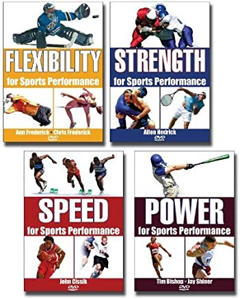 Sports Performance 4 DVD Package by Human Kinetics (November 20,2006)