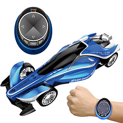 RC Car for Kids, Remote Control Vehicles Toy for Boys, High Speed Drift Racer Car with Smart Watch Voice Command
